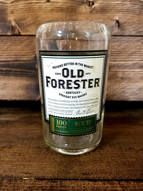Upcycled Old Forester Straight Rye Whiskey 100 Proof
