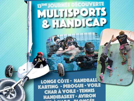 Annulation de la 13ème Journée Découverte Multisports & Handicap