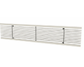 Continuous Fixed Bar Grille