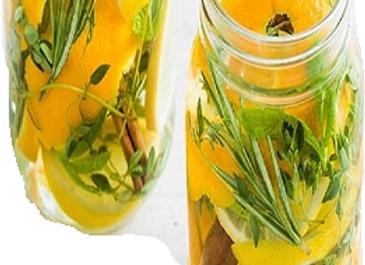Orange Citronella 8 oz. Mason Jar Candle