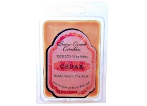 Cedar Soy Wax Melts
