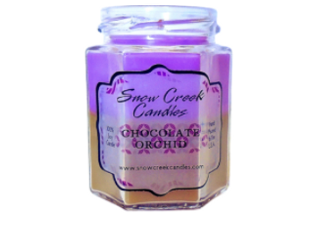 Chocolate Orchid Candle