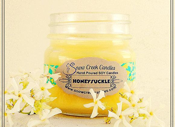 Honeysuckle 8 oz. Mason Jar Candle