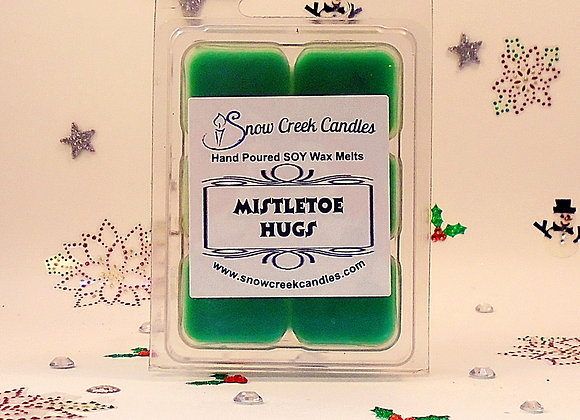 Mistletoe Hugs 6 pk. Wax Melts