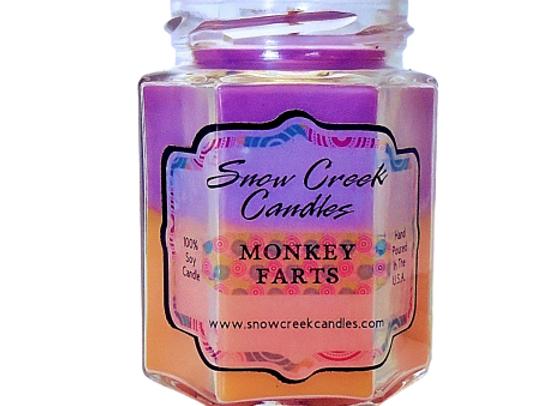 Monkey Farts Soy Candle