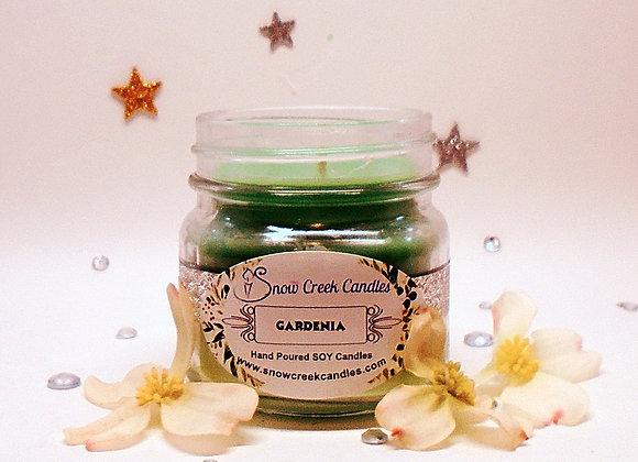 Gardenia 8 oz. Mason Jar Candle