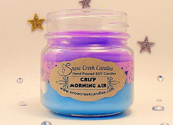 Crisp Morning Air 8 oz. Mason Jar Candle