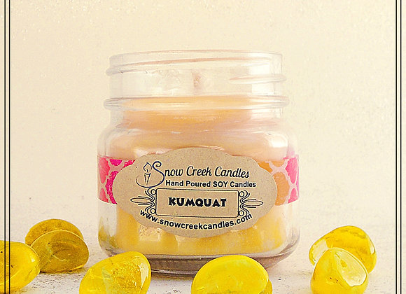 Kumquat 8 oz. Mason Jar Candle