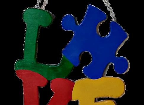 Autism Wood Sign