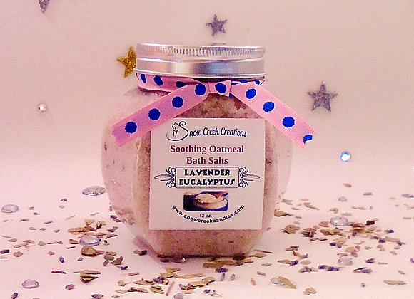 Oatmeal Bath Salts - 12 oz.