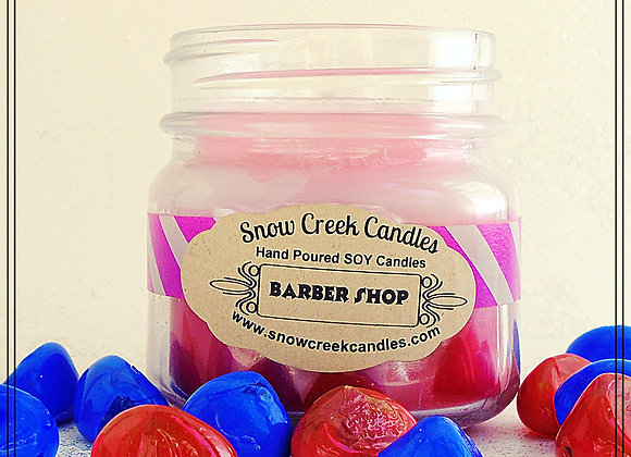 Barber Shop 8 oz. Mason Jar Candle