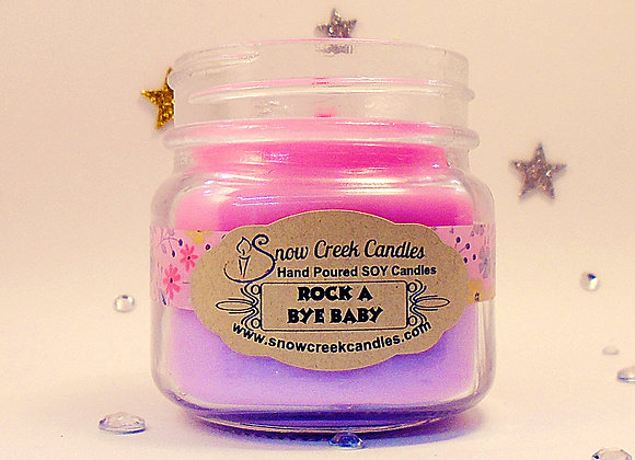 Rock A Bye Baby 8 oz. Mason Jar Candle