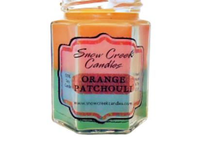 Orange Patchouli Candle
