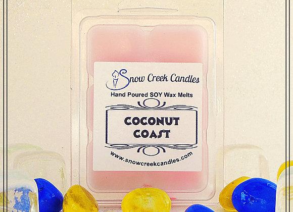 Coconut Coast  6 pk. Wax Melts