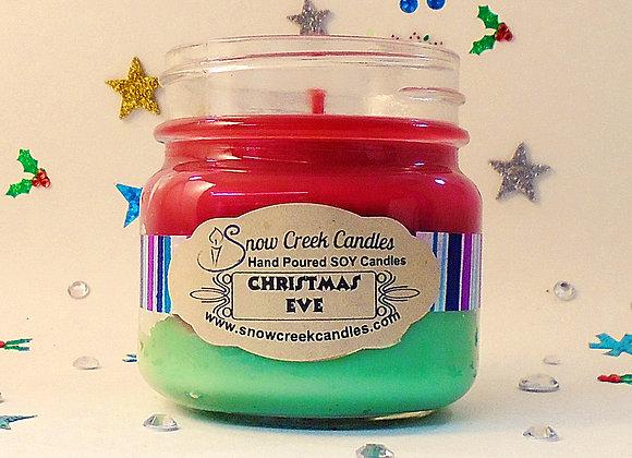 Christmas Eve 8 oz. Mason Jar Candle