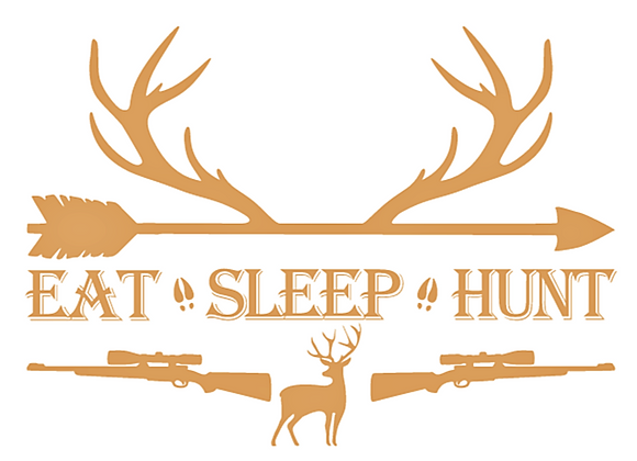 Eat Sleep Hunt Deer Hunting Vinyl Decal