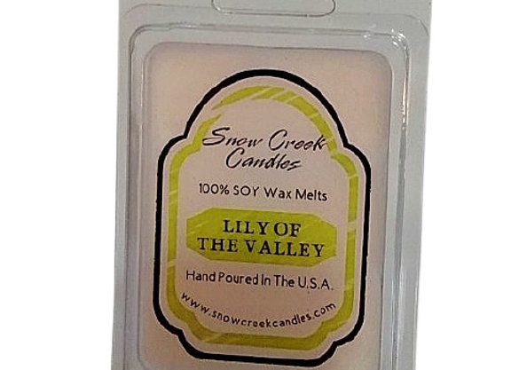 Lily of the Valley 6 pk. Wax Melts