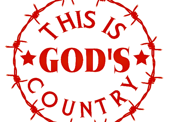 This Is God's Country Vinyl Decal