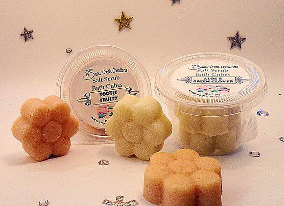 Salt Scrub Bath Cubes - Sample