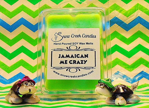 Jamaican Me Crazy 6 pk. Wax Melts