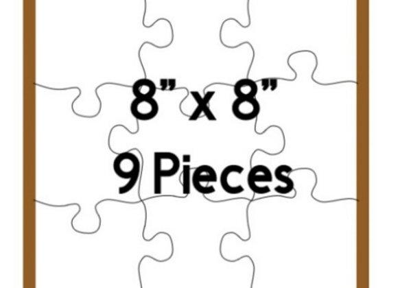 Customized 9 Piece Puzzle