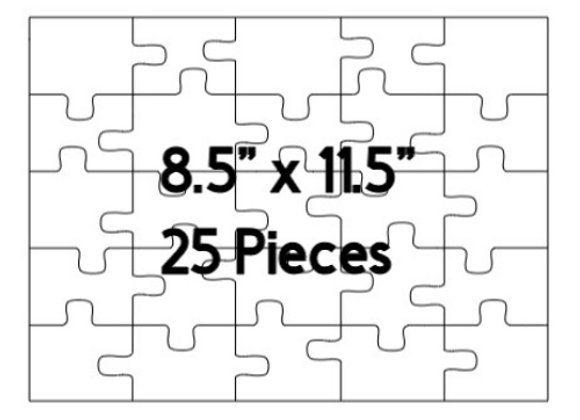 Customized 25 Piece Puzzle