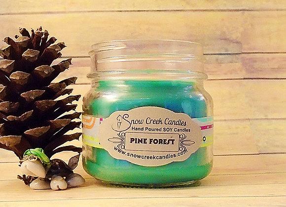 Pine Forest 8 oz. Mason Jar Candle