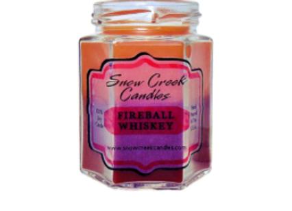 Fireball Whiskey Candle