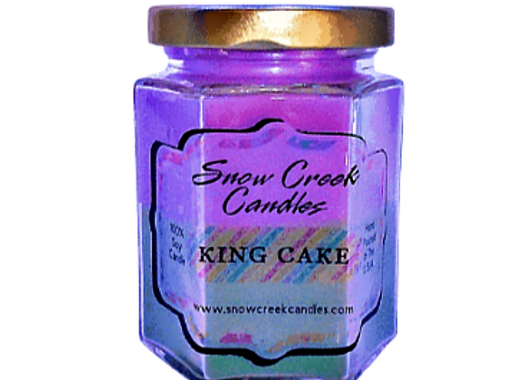 King Cake Soy Candle