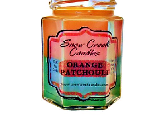 Orange Patchouli Soy Candle
