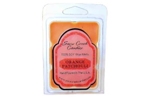 Orange Patchouli Soy Wax Melts