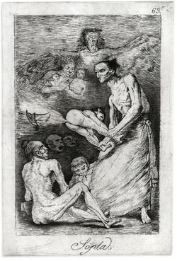 "Goya's ""Sopla"" Reproduction"