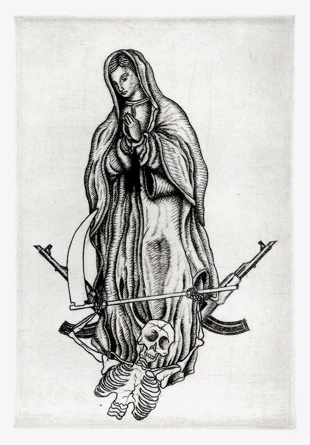 La Virgen y la Muerte