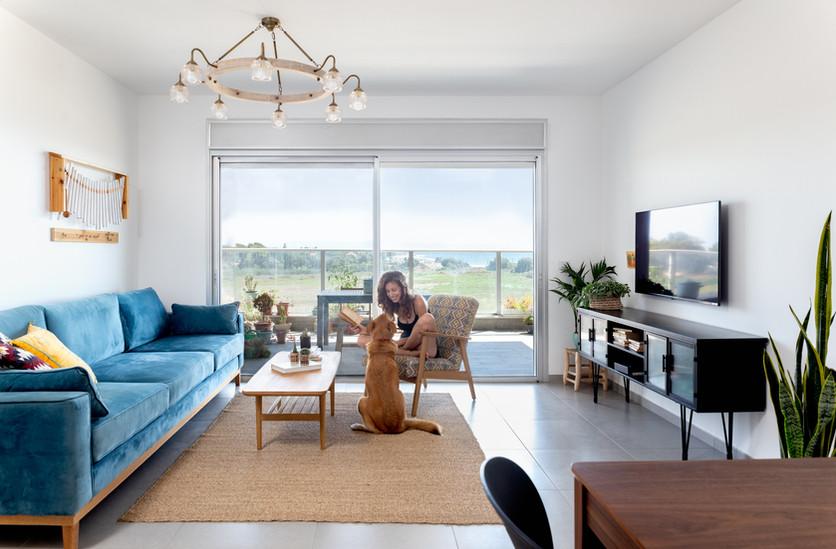דירה נגישה בנהריה פרויקט משותף עם לייזה זיו צילום: נויה שילוני חביב