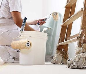 travaux intérieurs peinture cloison sol entreprise tremplin services domont solidaire