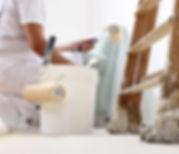 travaux intérieur peinture nettoyage partie commune résidence tremplin  services domont solidaire