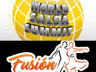 ¿Cuál es la relación de Fusión Salsafest con World Salsa Summit? ¿Cuáles son los principales benefic