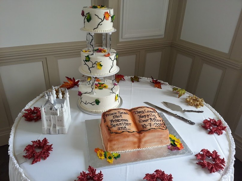 Magical Wedding Cake