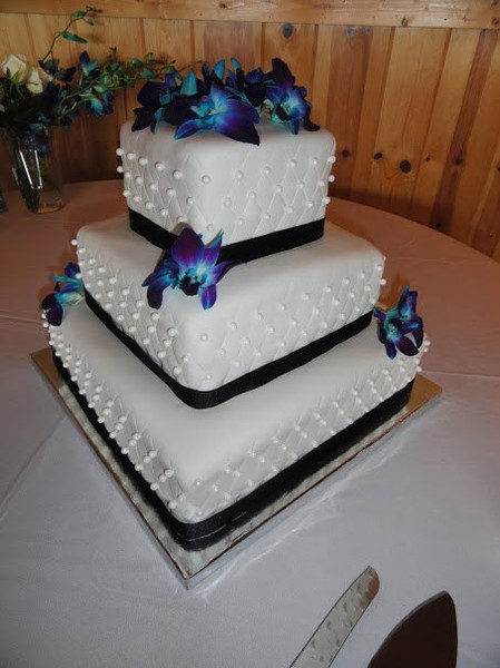 Fondant Quilted Cake