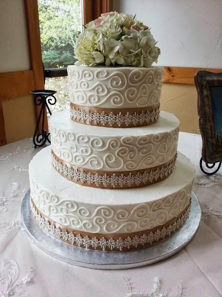 Wedding swirls