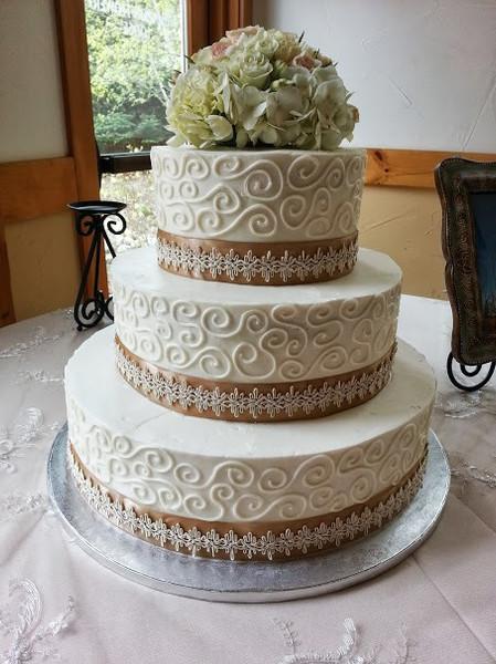 Wedding swirls