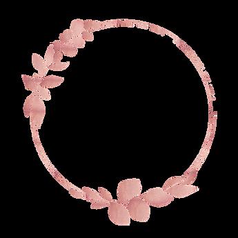 —Pngtree—pink gold   floral_4159096.png