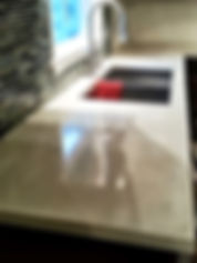 Kitchen concrete countertops Albany new york
