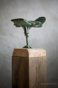 Clipping of Wings - bronze - 4/12