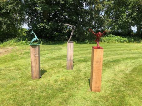 High Clandon Estate Vineyard- Sculpture Show 2021