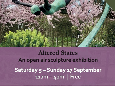Altered States-, Shaw House Newbury - Sculpture Show 2020