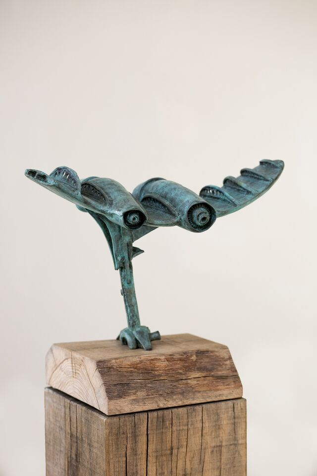 Clipping of Wings - bronze - 3/12
