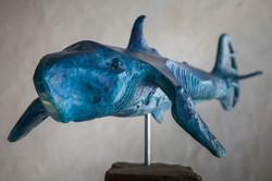 Herringkel Mk1 - bronze blue patina