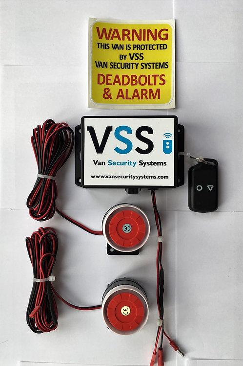 Shock Sensor Alarm System with 2 x Sirens