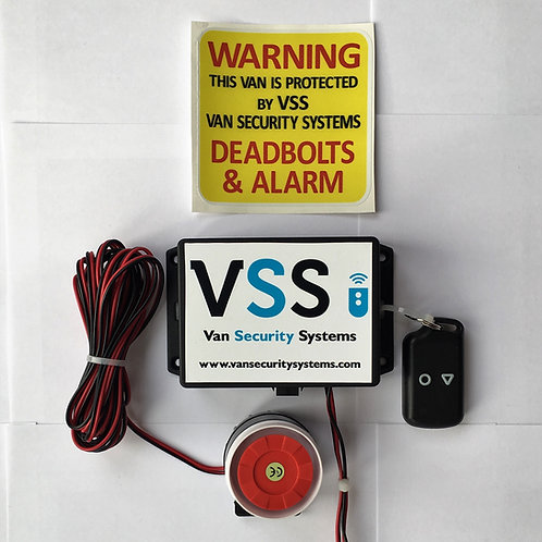Shock Sensor Alarm System with 1 x Siren